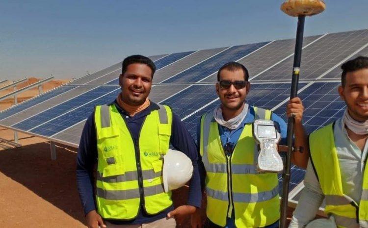 KOM OMBO solar project 26 MW