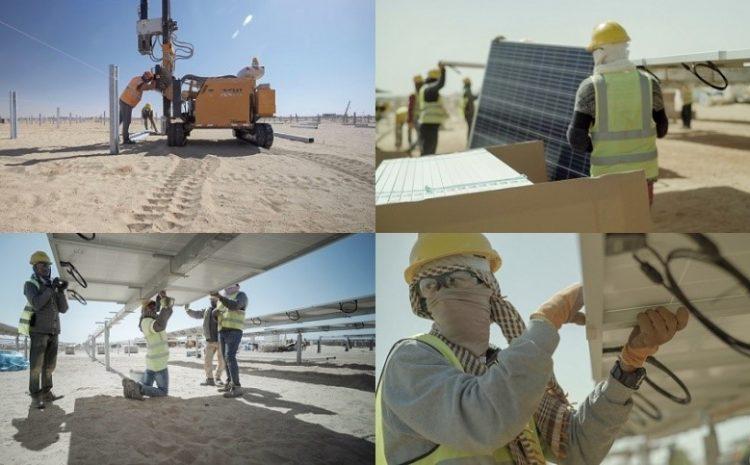 TBEA solar project 50 MW